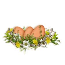 Easter Card For The Holiday  With Egg Royalty Free Stock Images