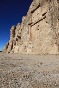Free NAQSH-E ROSTAM - Grave Of King Daeiros And Xerxs Stock Photos - 18432213