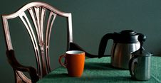Free Coffee Place Setting Stock Photos - 18432553