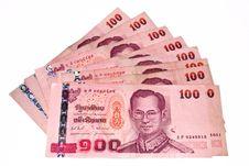 Free THAI BANKNOTE Stock Image - 18432931
