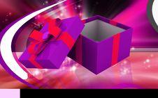 Free Gift Box Royalty Free Stock Photo - 18433625
