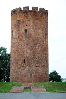 Free Old Tower In Belarus Stock Photography - 18434812
