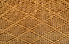 Free Rattan Weave Texture Royalty Free Stock Image - 18434936