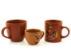 Free Three Different Cups Stock Image - 18434941