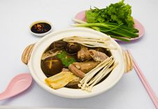 Free Buk Kut Teh Stock Photography - 18435132