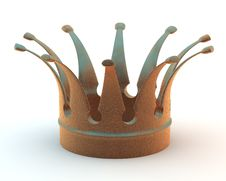 Copper Crown Royalty Free Stock Photos