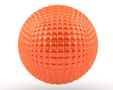 Free Orange Sphere(5) Royalty Free Stock Image - 18436756