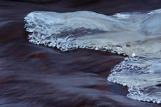 Free Melting Ice On The River Royalty Free Stock Photos - 18437098