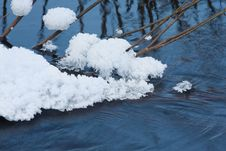 Free Melting Ice On The River Stock Photography - 18437112
