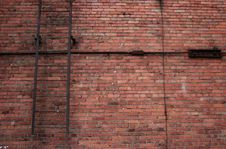 Free Brick Wall And Stairs. Royalty Free Stock Image - 18437346