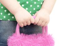 Free Girls Hands Cares The Bag Royalty Free Stock Image - 18437466