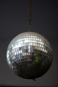 Free Mirror  Ball Stock Image - 18437801
