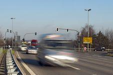 Free Speeding In Van Royalty Free Stock Photos - 18438008