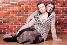 Happy Seniors Couple In Love Royalty Free Stock Photography