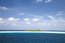 Free Resort Island Of Republic Of Maldives Stock Photography - 18439442