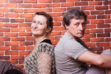 Free Happy Seniors Couple In Love Stock Photo - 18439530