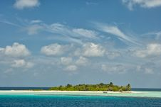 Free Resort Island Of Republic Of Maldives Stock Photos - 18439553