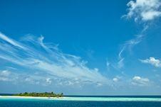 Free Resort Island Of Republic Of Maldives Royalty Free Stock Photography - 18439557