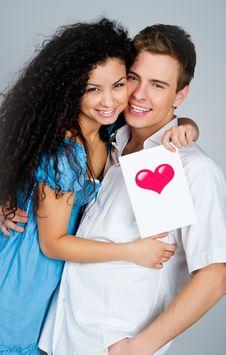 Free Smiling Couple Stock Photo - 18439710