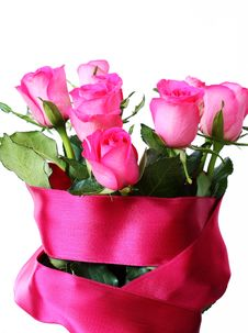 Free Beautiful Roses Bouquet Royalty Free Stock Image - 18439826