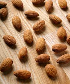 Free Almonds Royalty Free Stock Image - 18439936