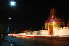 Free Side Of Wat Phra Kaeo Stock Photos - 18439943