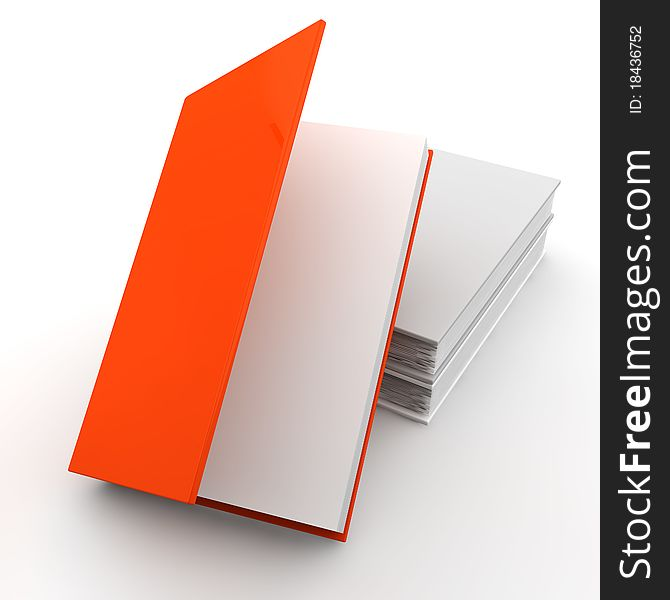 White books and one unique red(5)