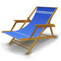 Free Colorful Beach Chair Royalty Free Stock Photos - 18443878