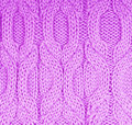 Free Knitted Lilac Cloth Close Up Stock Photo - 18446050