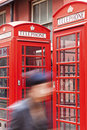 Free Telephone Booths In London Stock Image - 18449561