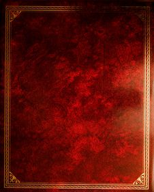 Free Grunge Red Background Stock Photography - 18440642