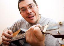 Free Guitarist Stock Photos - 18440873
