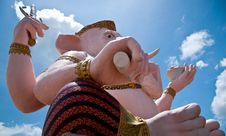 Free Right-view Of Ganesh: Lord Of Knowledge Royalty Free Stock Photography - 18440987