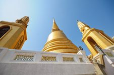Free Golden Pagoda, Temple In Thailand Stock Image - 18441071