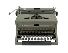Free Old Fashioned Typewriter Royalty Free Stock Photo - 18441815