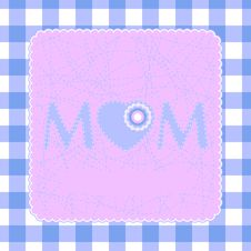 Free 80s Style Mothers Day Card. EPS 8 Stock Photo - 18441840