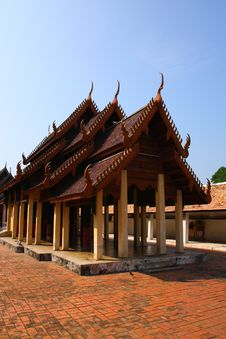 Free The Thai Pavillion, Lampang, Thailand Royalty Free Stock Photo - 18441925