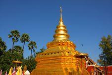 Free The Pagoda Of Chiangmai, Thailand Royalty Free Stock Photography - 18441977