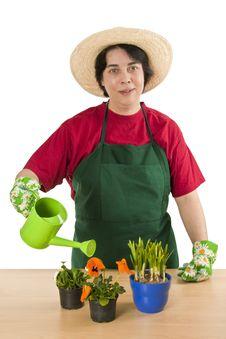 Free Gardener Stock Photography - 18442332