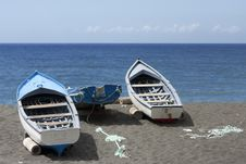 Free Fishing Boat Stock Photo - 18444290