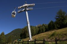 Free Cable Car Royalty Free Stock Image - 18444446