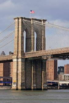Free Brooklyn Bridge Stock Image - 18445741