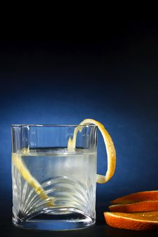 Vodka, Cold Aclohol Drink Stock Photo