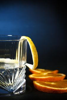 Vodka, Alcohol Drink, Closeup Stock Images