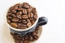 Free Grain Coffee Royalty Free Stock Photos - 18446698