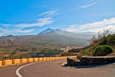 Free Tenerife Road Royalty Free Stock Images - 18447719