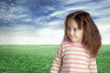 The Smiling Child Stock Photography