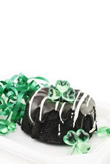 Saint Patricks Day Cake Royalty Free Stock Photo