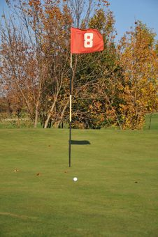 Free Golf Field Royalty Free Stock Images - 18449839