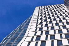 Windows Of Office Buildings Stock Photos